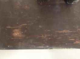 Floor after sanding